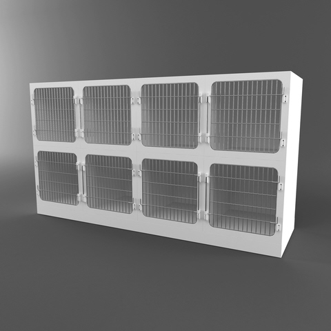 Plaztek Mesh Front Unit